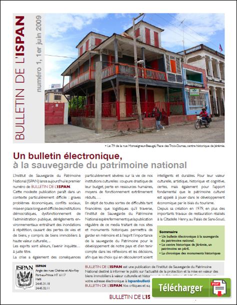 Un bulletin électronique, à la sauvegarde du patrimoine national