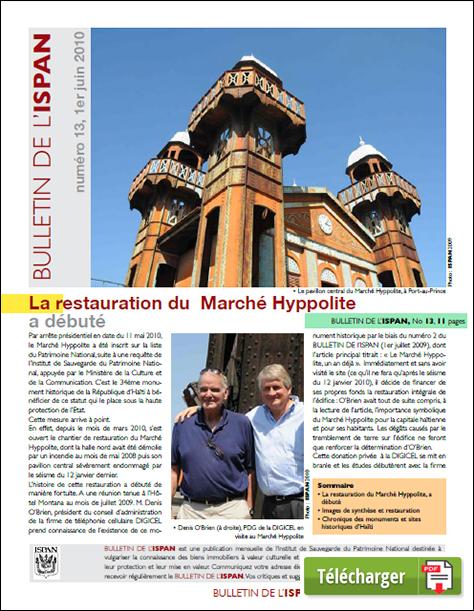 La restauration du Marché Hyppolite a débuté
