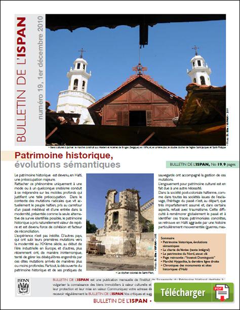 Patrimoine historique, évolutions sémantiques