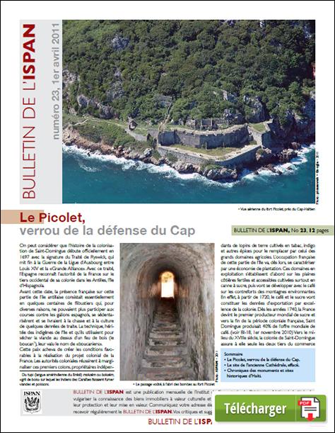 Le Picolet, verrou de la défense du Cap
