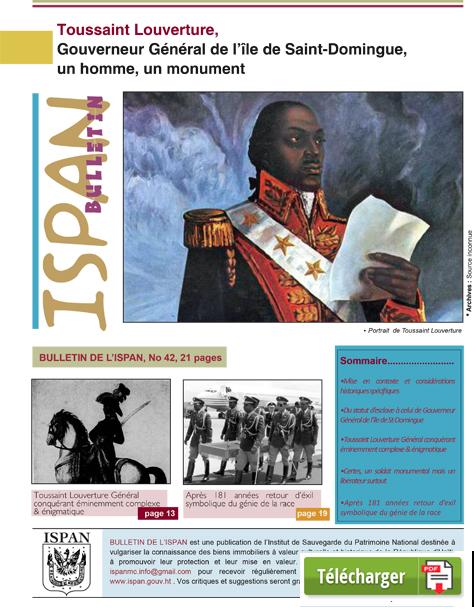 Toussaint Louverture, Gouverneur Général de l'île de Saint-Domingue,un homme, un monument