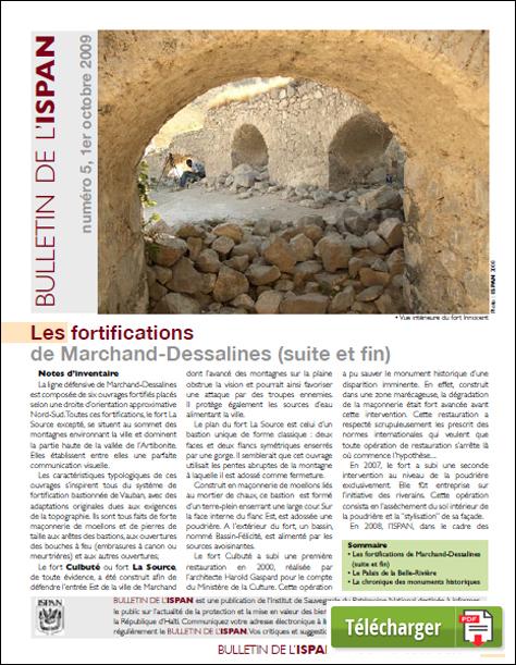 Les fortifications de Marchand-Dessalines ( suite et fin)