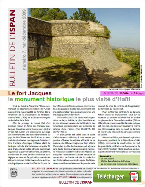 Le fort Jacques le monument historique le plus visité d'Haïti